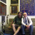 S tatínkem v mém atelieru