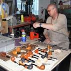 Tvarování náustku a hotové dýmky